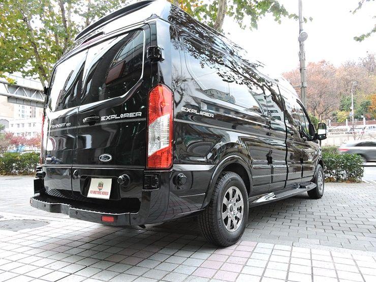 벤츠도 부럽지 않은 포드 트랜짓 리무진밴 출시 :: 다나와 DPG
