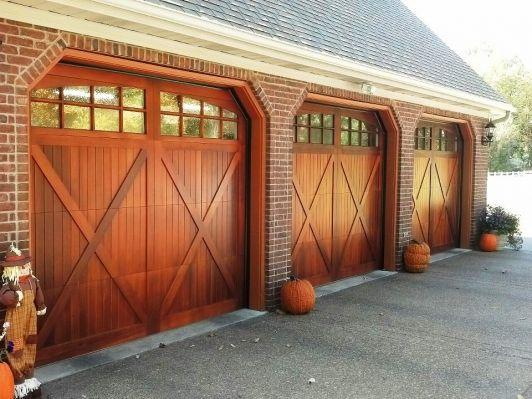Wooden Garage Door Home And Garden Design Ideas Garage Doors