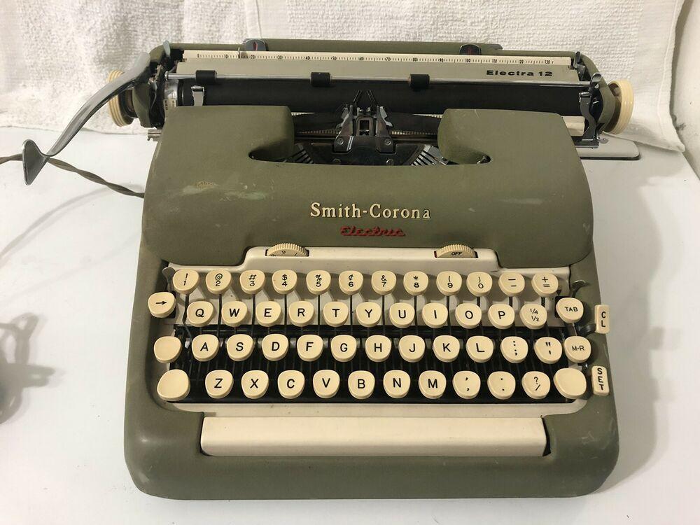 Smith corona typewriter repair