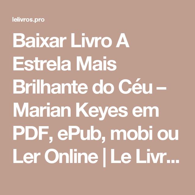 NOITES PDF TORMENTA EM LIVRO BAIXAR DE