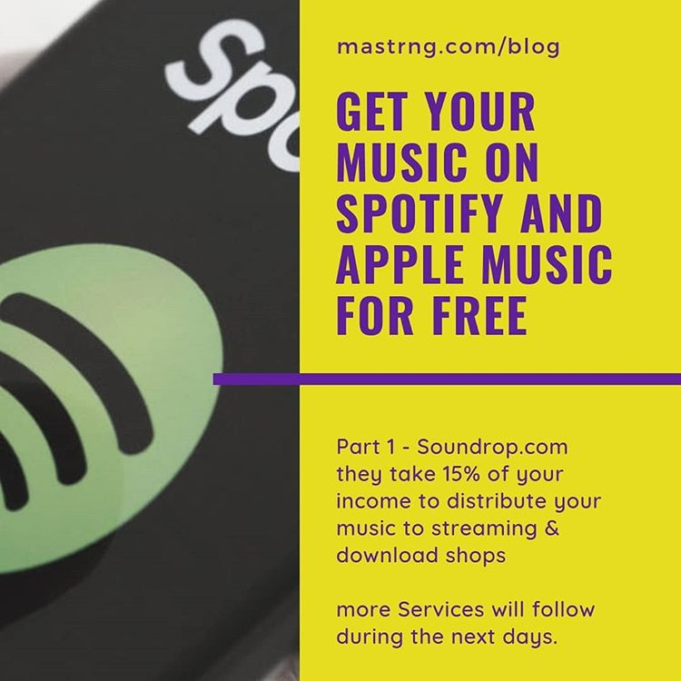 Get your Music production on Spotify for free. Upload your