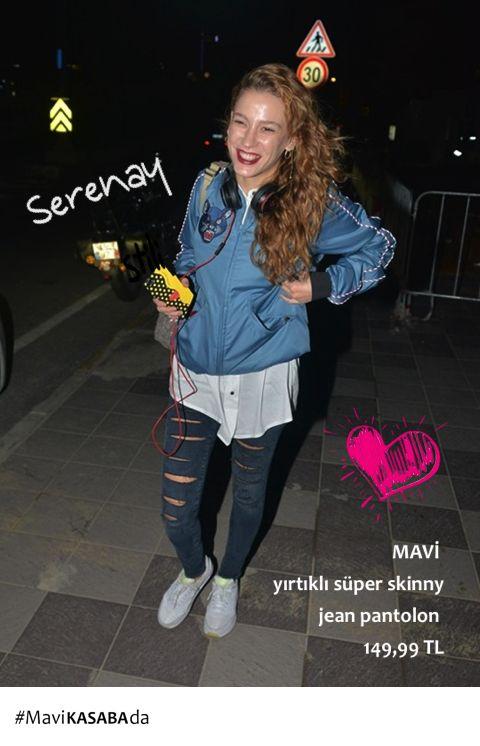 9c6a1e3a3d51e #MedCezir dizisinin yıldızı Serenay Sarıkaya'nın stilini biz çok sevdik SEN  de sevdiysen, Serenay'ın, nam-ı diğer Mira'nın sokak stilini KASABA'da ...