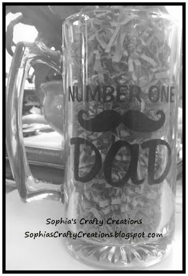 Father's Day Beer Mug at Sophia's Crafty Creations
