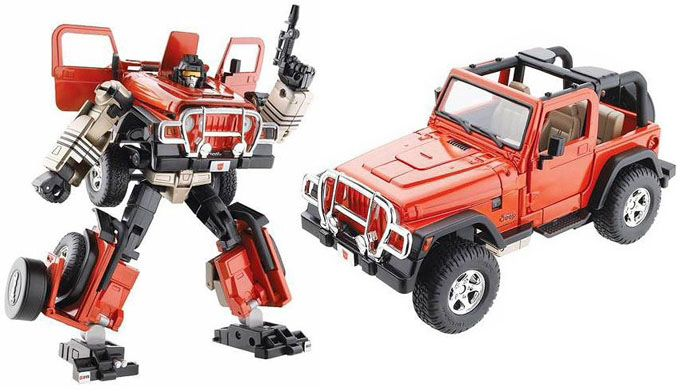It S A Jeep Thing And A Transformer Thing Red Jeep Jeep