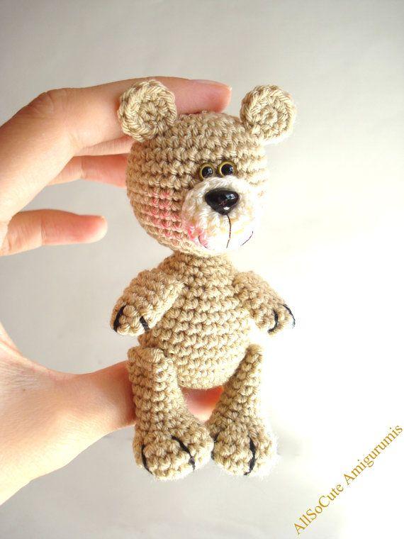 PDF Crochet Pattern Teddy Bear Pattern Crochet Tutorial | Ganchillo ...