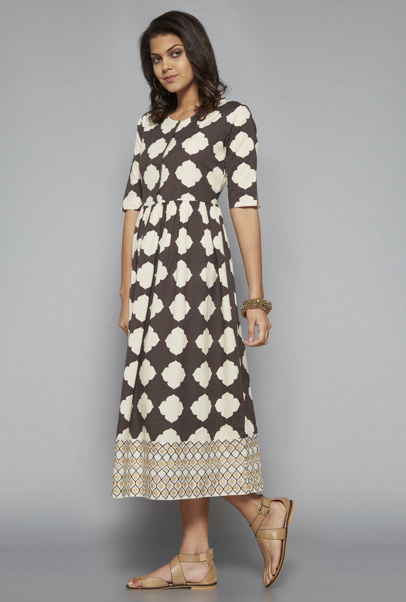 9b823f754c3 Bombay Paisley by Westside Grey Dress