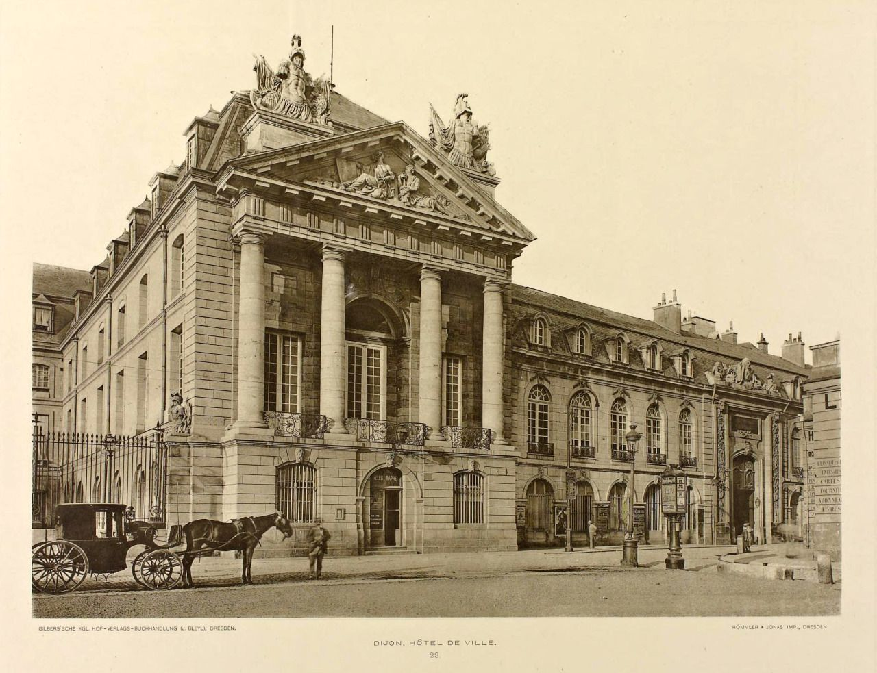 The City Hall, Dijon