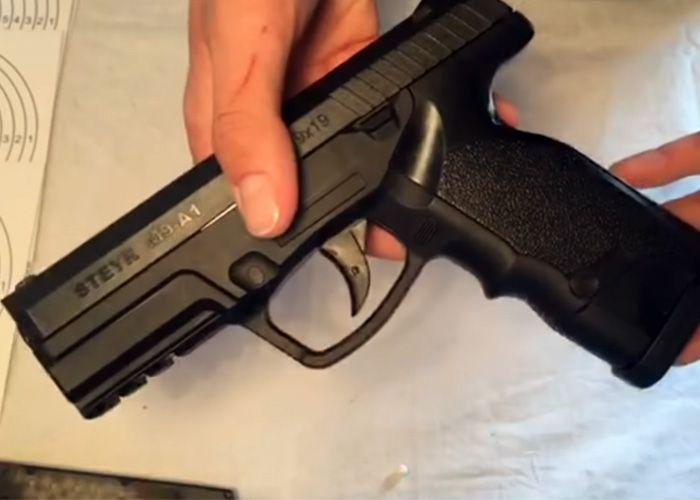 Pin by RAE Magazine Loader on Steyr Pistols | Steyr, Hand