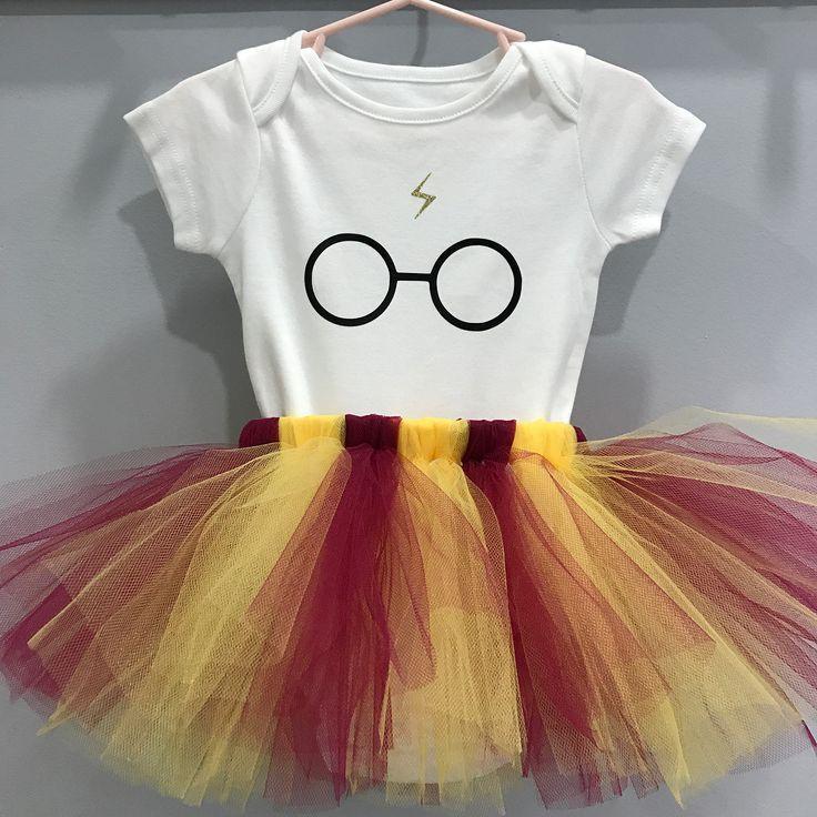 7acf22bcf Harry Potter Outfit - Harry Potter Onesie Bodysuit - Harry Potter Tutu - Harry  Potter Cake Smash - Harry Potter Birthday - Harry Potter Party - Harry  Potter ...
