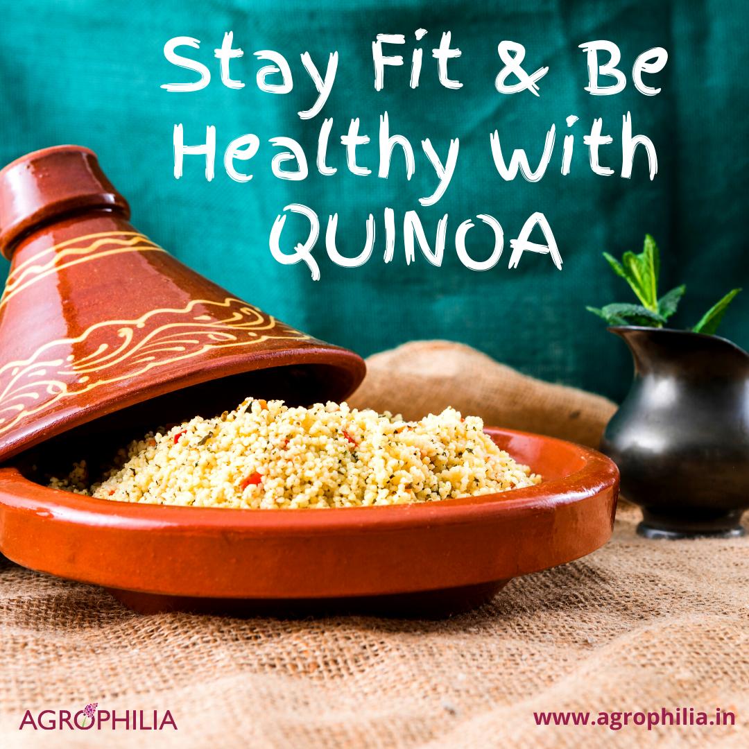 #Quinoa #HealthyFood High Protien Diet