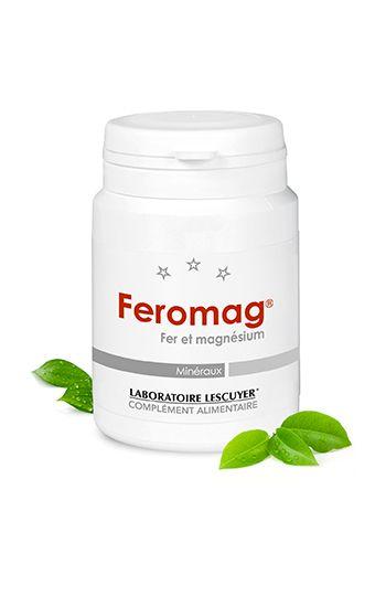Feromag - Fer et magnésium - Contribue à réduire la #fatigue (fer) - Excellente tolérence - Complément alimentaire - Prix : 19,80 € TTC