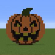 Pumpkin Minecraft Halloween Minecraft Creepy Pumpkin Cartoon