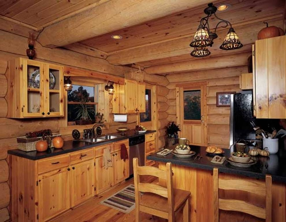 15 Rustic Kitchen Cabinet Ideas For Your Lovely Nest Log Cabin