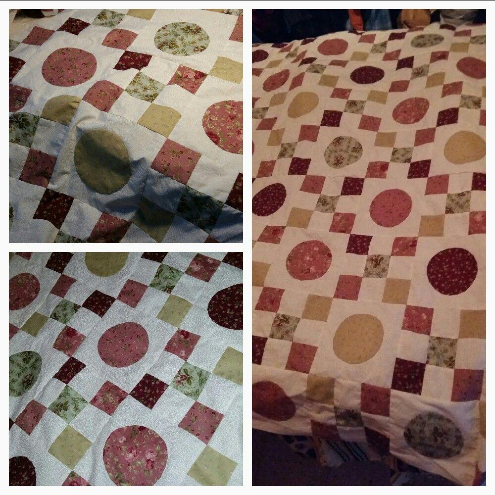 #irishchainquilt #patchwork #quilt #fabric