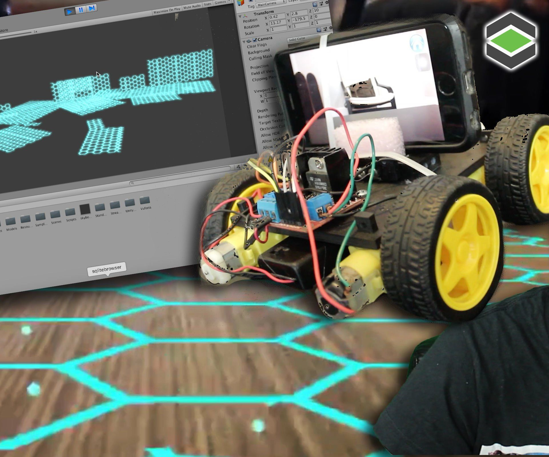ROOM MAPPING Arduino Robot With Unity 3D   3d project