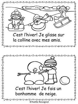 C 39 est l 39 hiver petit livre gratuit french immersion - Livre maternelle gratuit ...