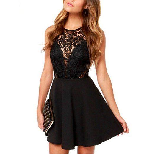 Kleines Schwarzes mit Spitze!=) | Dress | Pinterest | Kleine ...