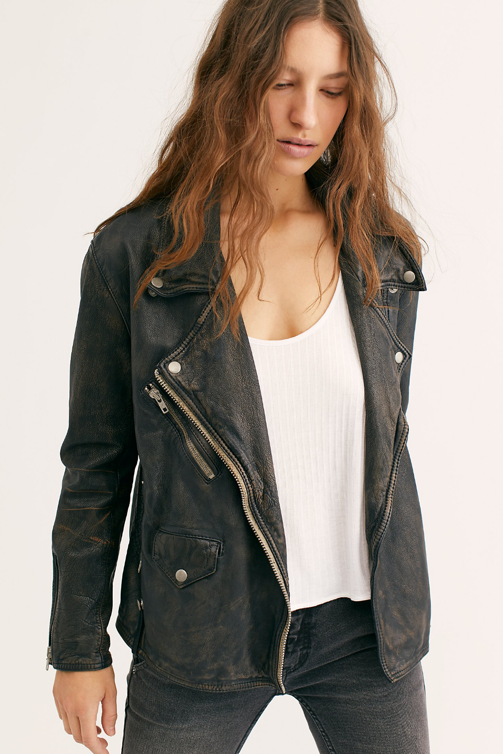 Jealousy Leather Moto Jacket (With images) Leather