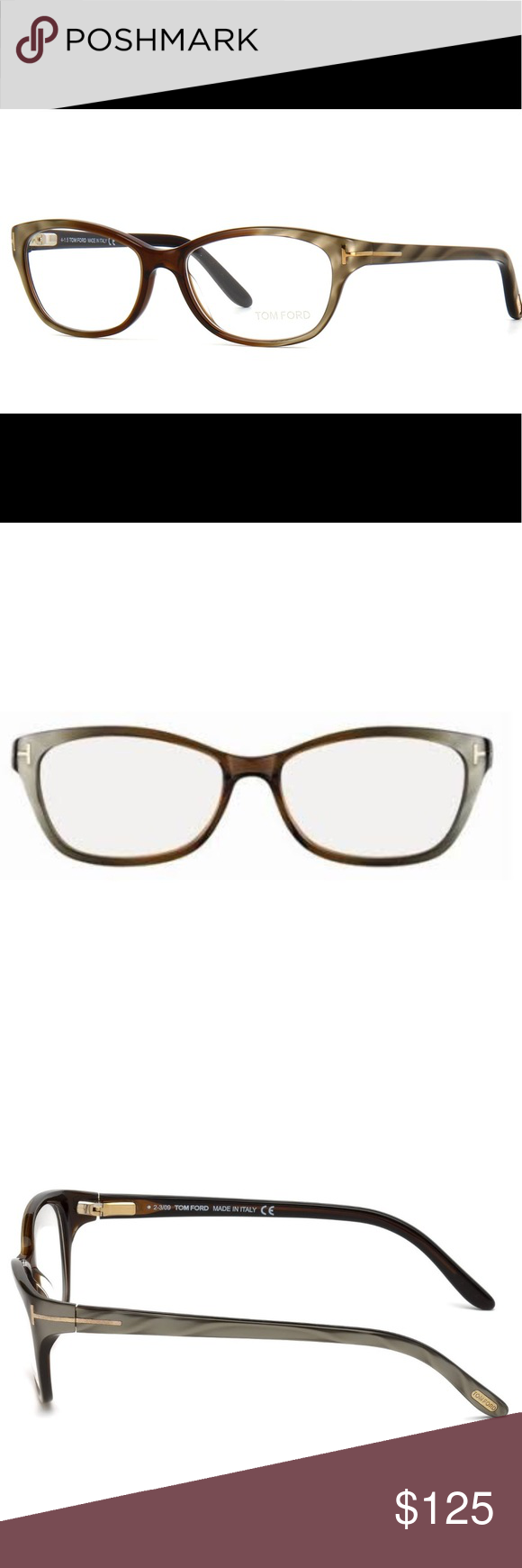 c16fa8429386a Tom Ford TF 5142 Brown Olive Optical Frames Tom Ford TF 5142 Brown Olive  Optical Frames - Size 54-15-135 - new never worn. Tom Ford Accessories  Glasses