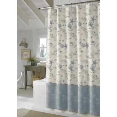 Tommy BahamaR 72 Inch X Hawaiian Islands Shower Curtain