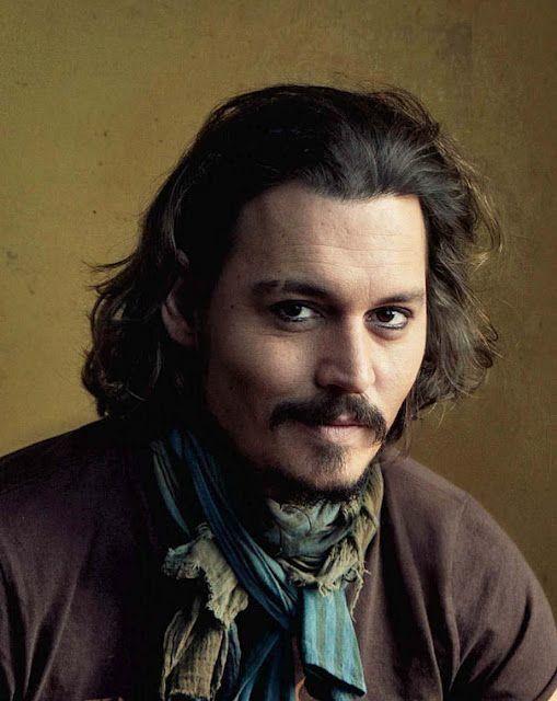 Johnny Depp Long Hairstyles