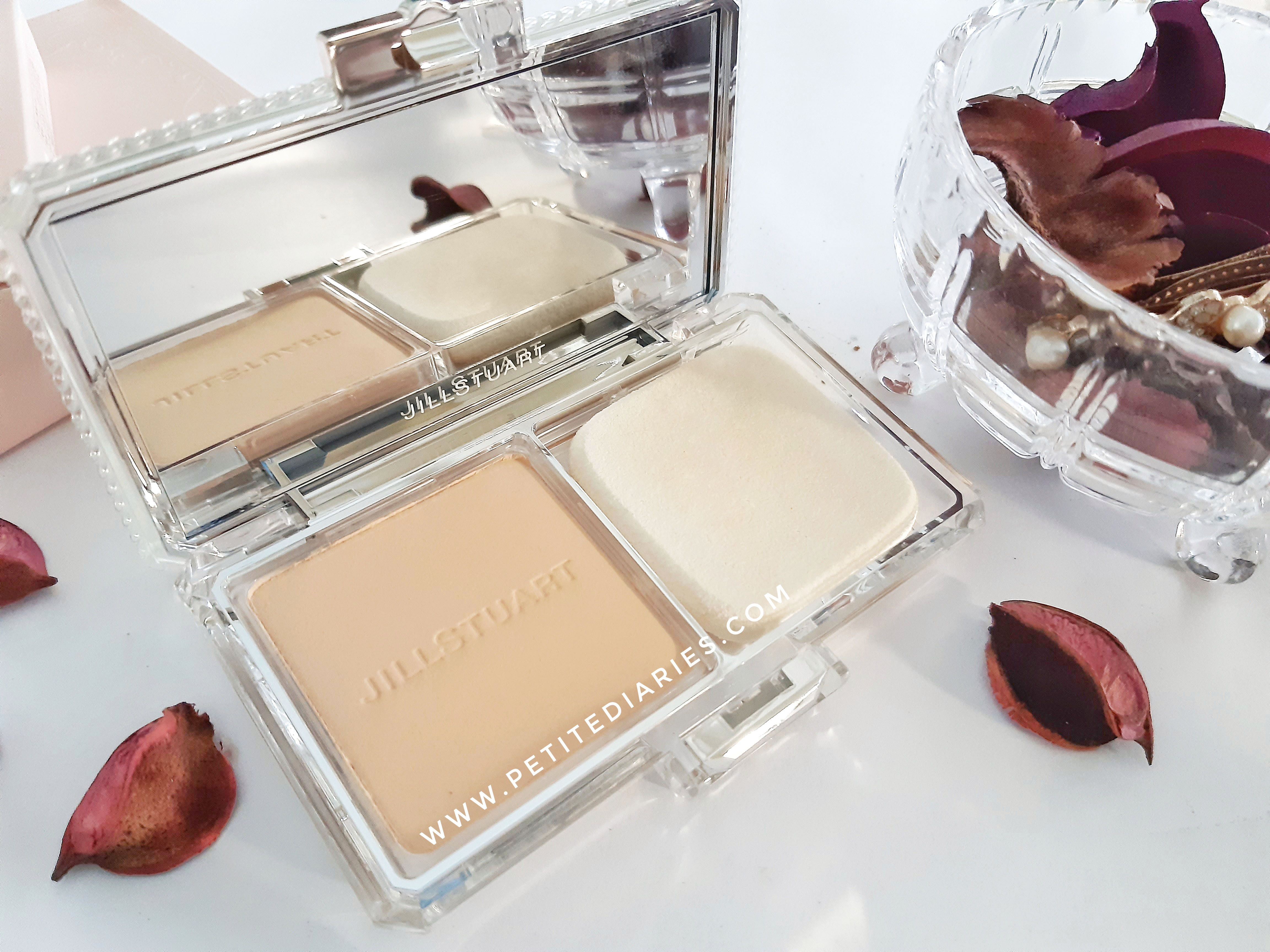 Review Jill Stuart Airy Stay Flawless Powder Foundation