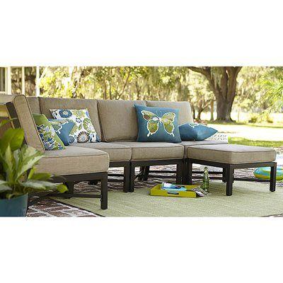 Garden Treasures Palm City 5 Piece Sectional Sofa