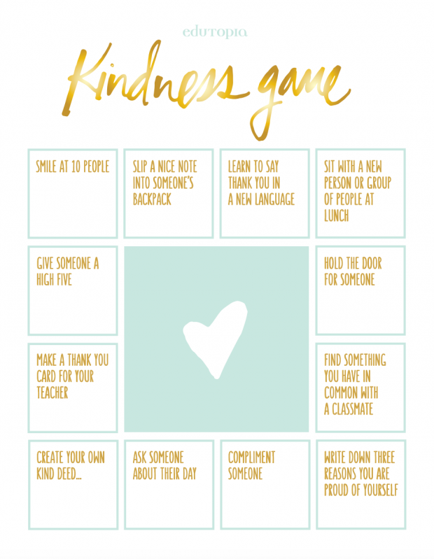 The Kindness Game Activity | Building Classroom Community