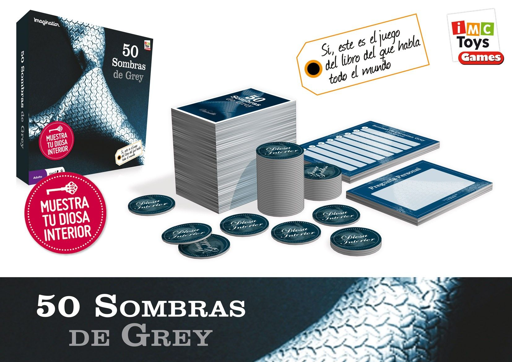 Sorteo 8 juegos de mesa de 50 Sombras de Grey.