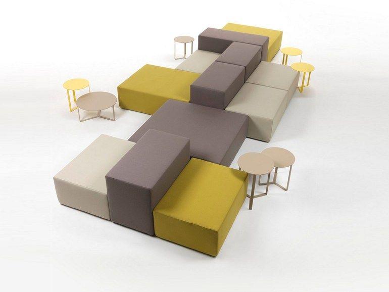 Divano componibile modulare LOUNGE Collezione Lounge by Giulio ...