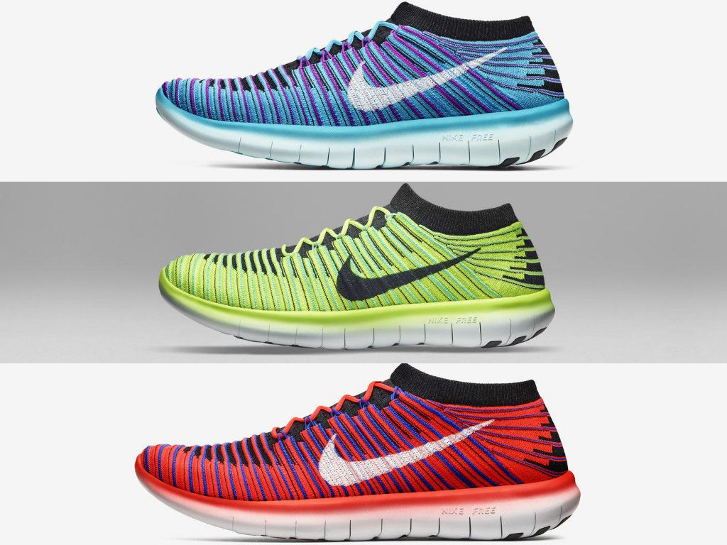 Nike Free RN Flyknit Women\u0027s Running Shoe DYNAMICALLY FLEXIBLE. NATURAL  FIT. More cushioned than
