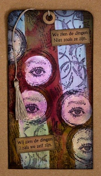 annekescardart - We don't see things as they are, we see things as we are