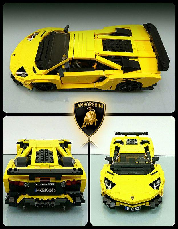 LEGO Lamborghini Aventador SuperVeloce #lamborghiniaventador
