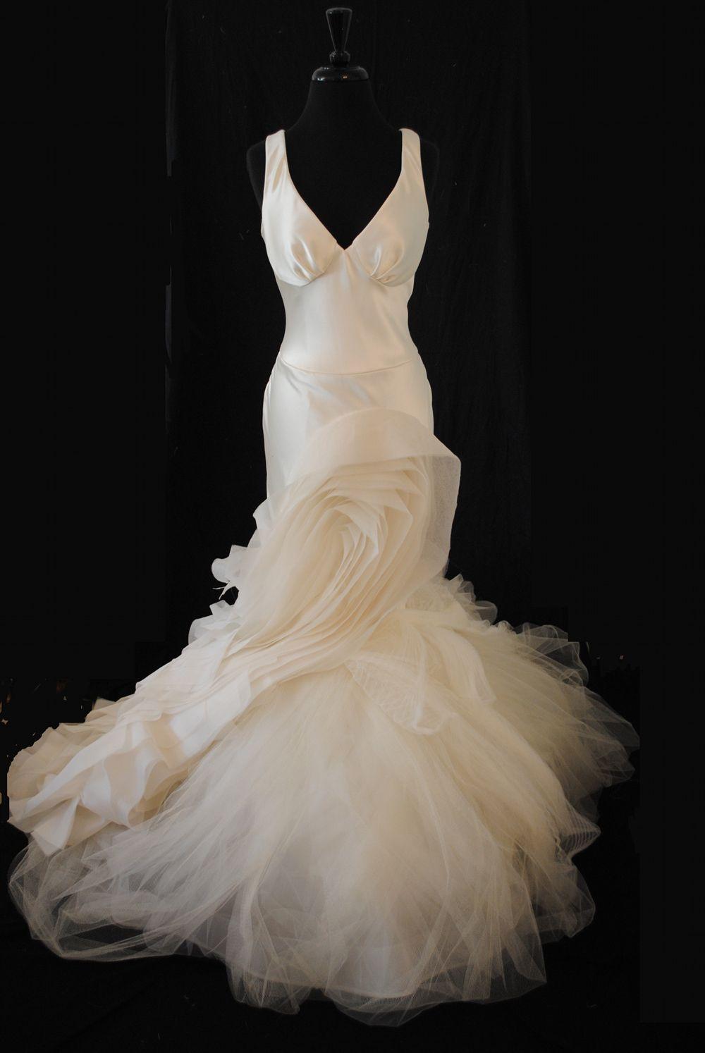 Vera wang vera wang janice size size wedding dress wedding