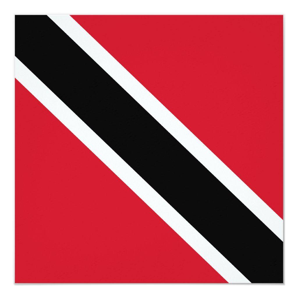 Trinidad And Tobago Flag Invitation Tobago Flag Trinidad Flag Trinidad And Tobago Flag