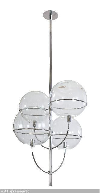 Lyndon Vico Magistretti For O Luce Italy Things To Sell Ceiling Lights Lyndon