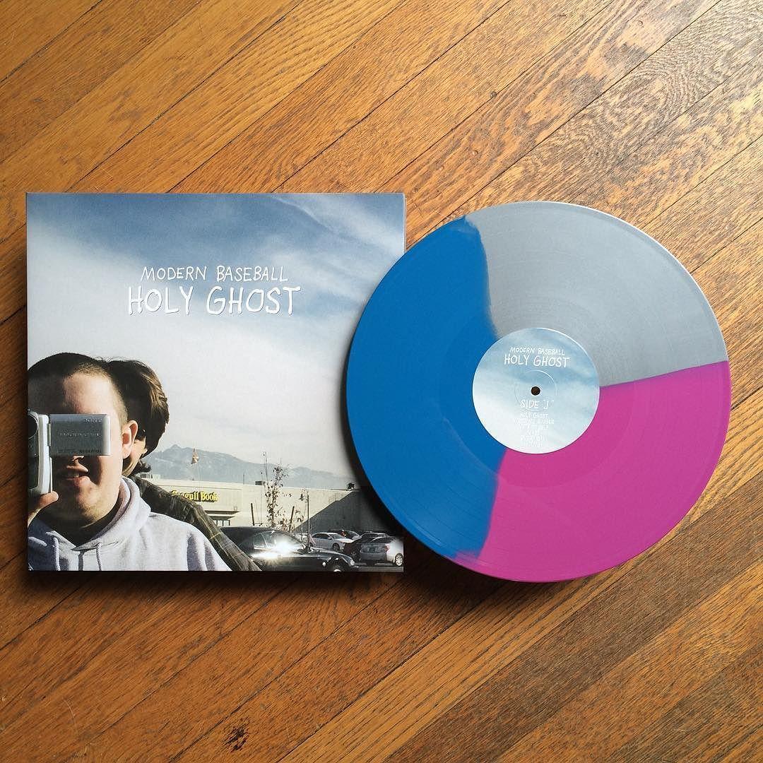 Modern Baseball Holy Ghost 1st Press Preorder Exclusive Blue Silver Grimace Tri Color 300 Vinyljunkie Vinyligcl Holy Ghost Vinyl Junkies Instagram Posts