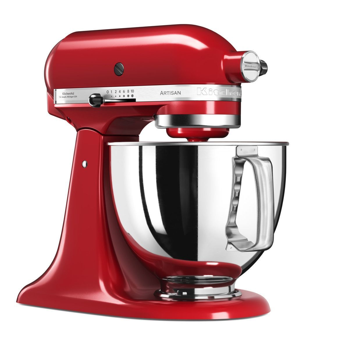 Kitchenaid Artisan Stand Mixer 5ksm125 Empire Red Kitchenaid Artisan Kitchen Aid Kitchenaid Artisan Stand Mixer