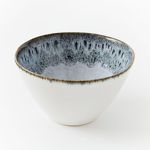 Reactive Glaze Dinnerware Set - Black/White #westelm & west elm Mug | Dinnerware Glaze and Stoneware