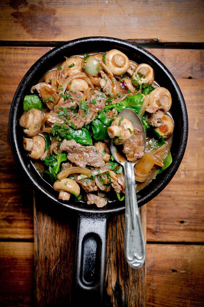 Lean Beef Stroganoff The Healthy Chef Teresa Cutter Food