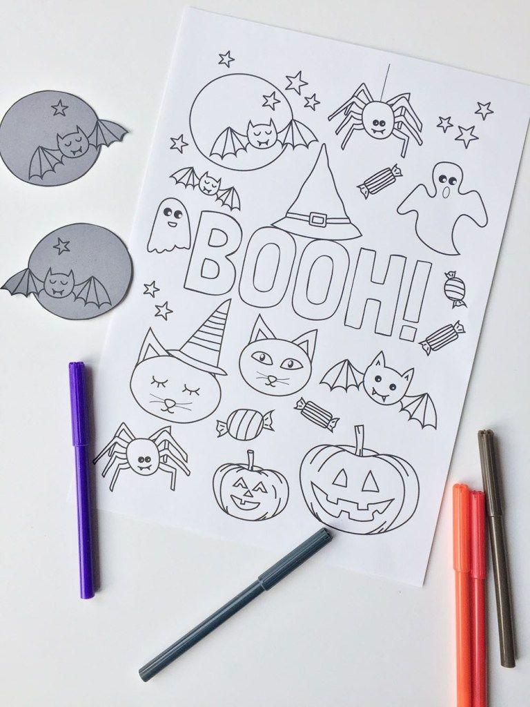 Halloween Printable Kleurplaat Gratis Download Kleurplaten Feestartikelen Afdrukbare