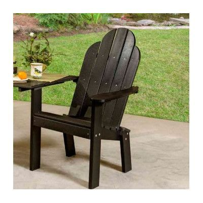 Little Cottage Company Classic Tete A Tete Deck Chair Finish: Weathered Wood