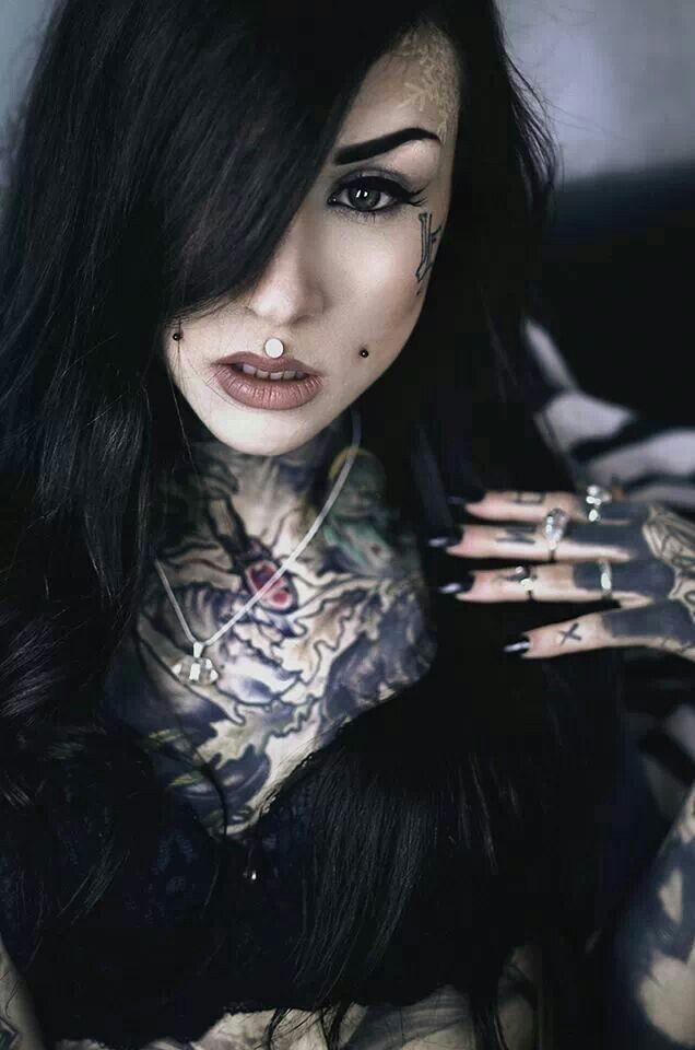 Goth and tattoo porn