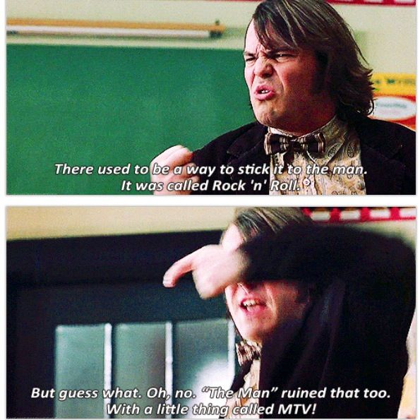 Best Comedy Movie Quotes Of All Time: School Of Rock, Movies