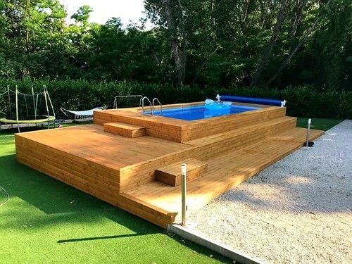 Le 48 più belle piscine fuori terra rivestite Piscine,