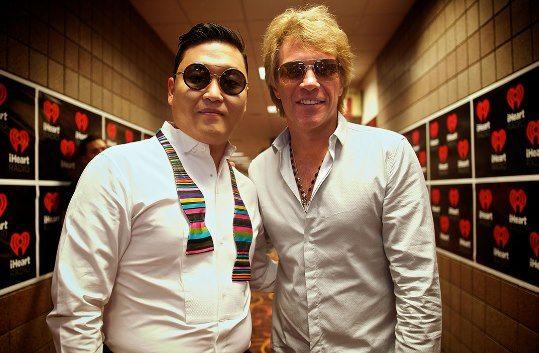 Psy and Bon Jovi