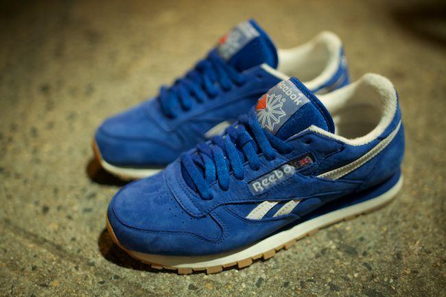 ... Reebok Blue Classic Reebok Classic Leather ... a0abea081