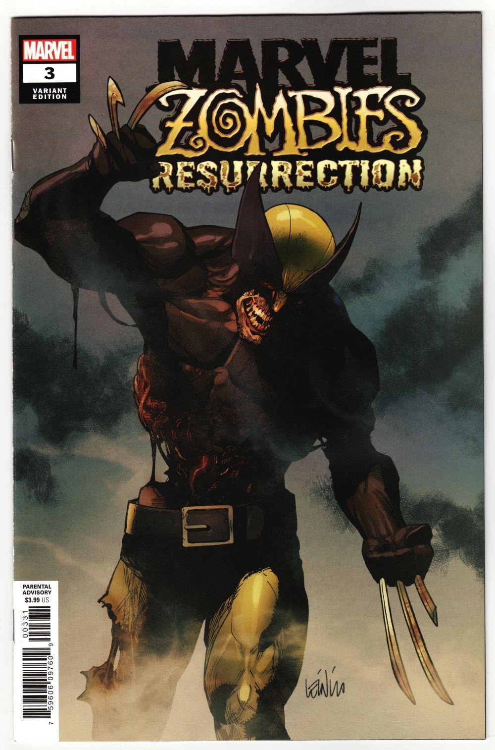 RESURRECTION #2 Greg Land Variant MARVEL ZOMBIES ~ Marvel Comics
