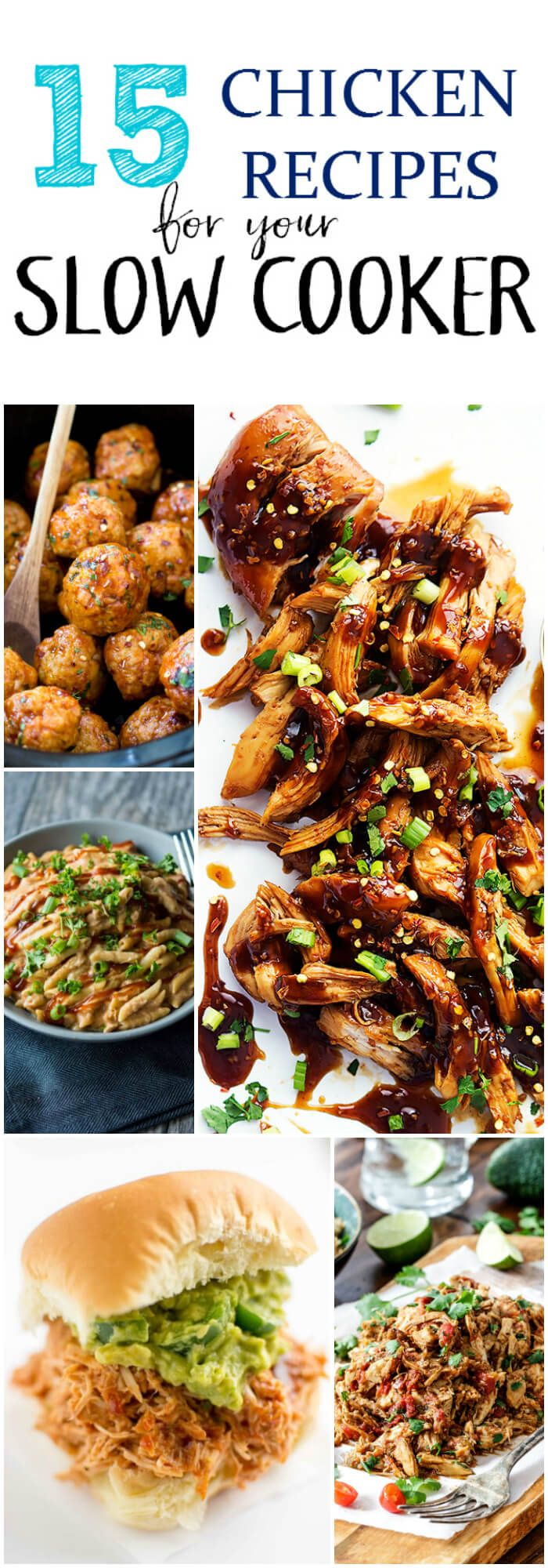 15 Chicken Recipes for your Slow Cooker
