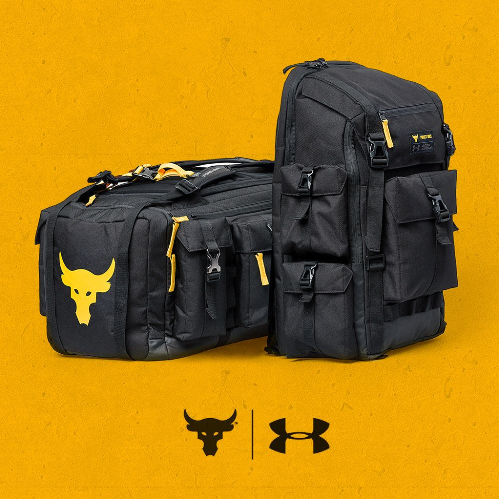 The Rock Under Armor Duffle Bag   Lawson looper in 2019   Armour ... 4fad8d9a45